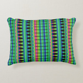 Spring Peruvian Array Cotton Accent Pillow