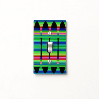 Spring Peruvian Array Light Switch Cover
