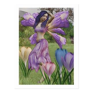 Spring Petals Postcard