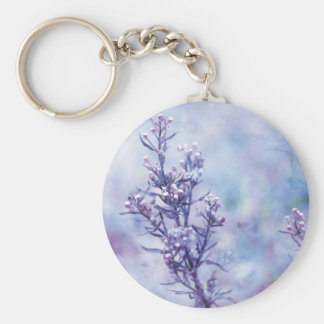 Spring Photography Blooming Flowers Keychain