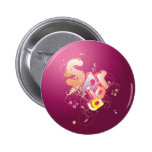 Spring Pinback Buttons