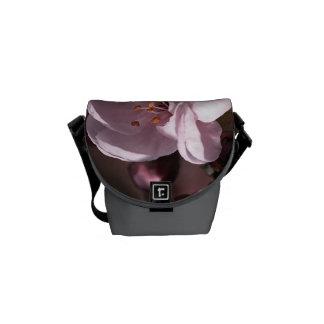 Spring Pink Blossom Mini Messenger Bag