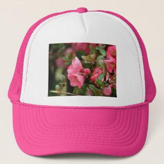 Spring Pink Flowering Quince Trucker Hat