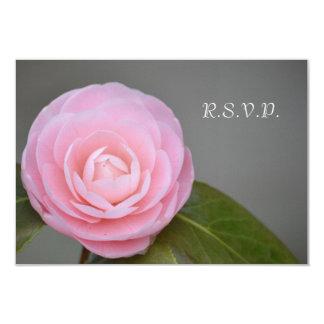 Spring Pink Rose Card