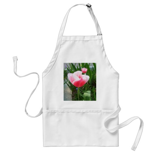 Spring Pink Tulips CricketDiane Flowers Adult Apron