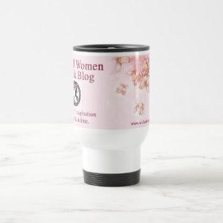Spring Pink Wicked Women Book Blog Travel Mug