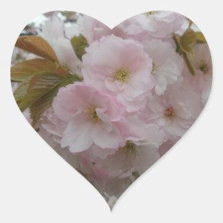 Spring Pinky Heart Sticker