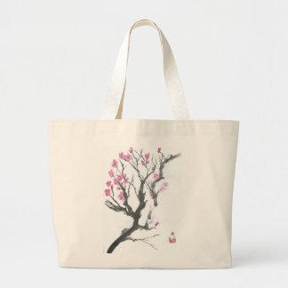 Spring Plum Blossom Branch Art Tote Bag