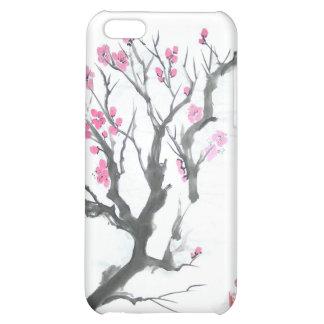 Spring Plum Blossom Branch Art iPhone 5C Cases