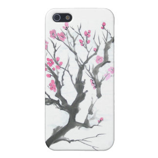 Spring Plum Blossom Branch Art iPhone SE/5/5s Cover