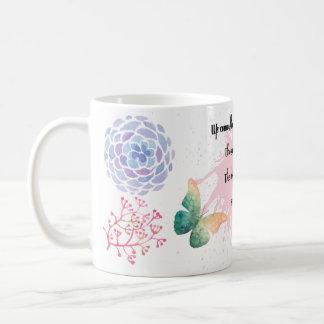 Spring Poetry Gift Mug In Blended Tones