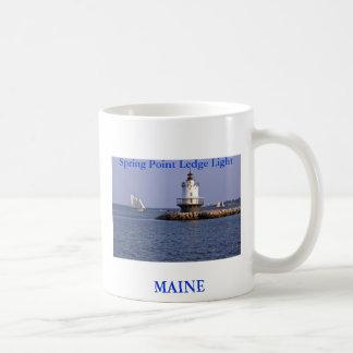 Spring Point Ledge Light, Maine Coffee Mug