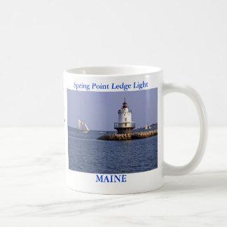 Spring Point Ledge Light, Maine Mug