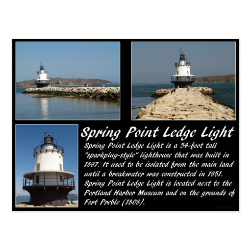 Spring Point Ledge Light Postcards