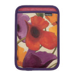 Spring Poppies iPad Mini Sleeves
