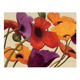 Spring Poppies Postcard