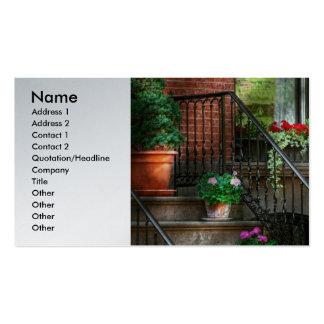Spring - Porch - Hoboken in Spring Business Cards
