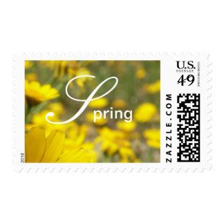 Spring Postage Stamp