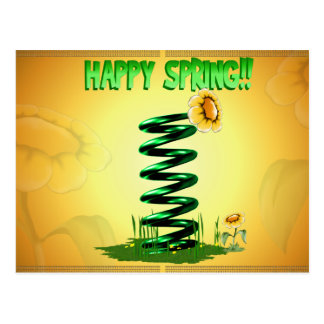 Spring!! Postcard