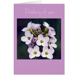 Spring  Posy Card