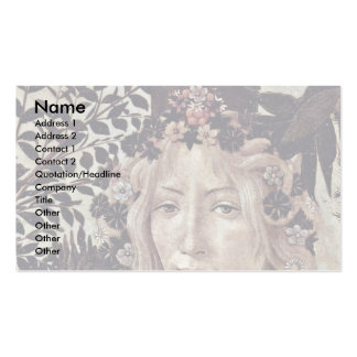 Spring (Primavera)  By Botticelli Sandro Business Card
