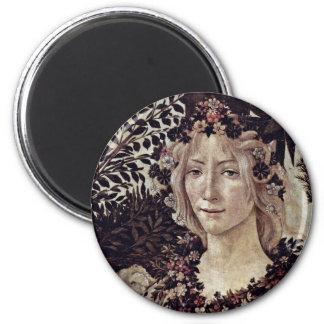 Spring (Primavera)  By Botticelli Sandro Fridge Magnet