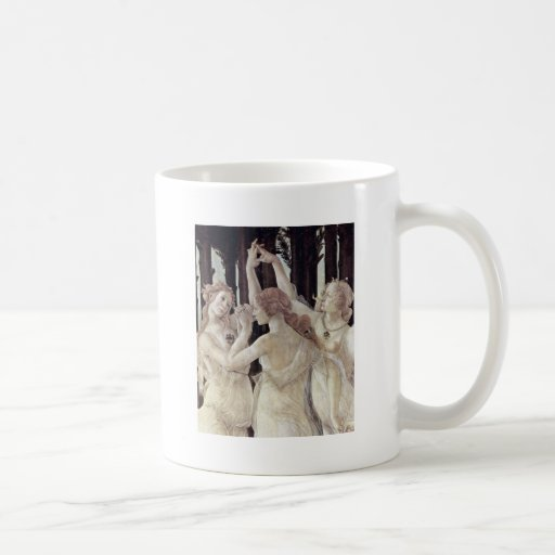 Spring (Primavera),  By Botticelli Sandro Coffee Mugs