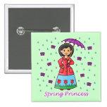 Spring Princess Button