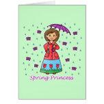 Spring Princess Cards