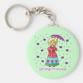 Spring Princess Keychain