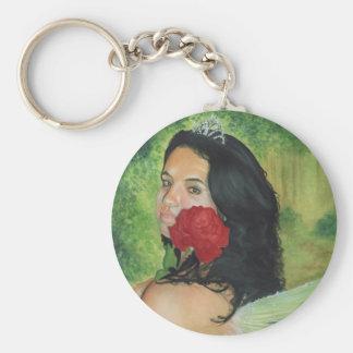 Spring Queen Keychain
