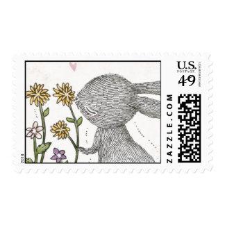Spring Rabbit Postage