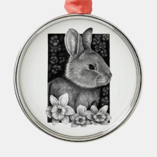Spring Rabbit Premium Ornament