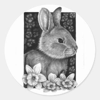 Spring Rabbit Sticker