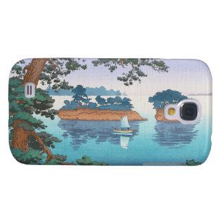 Spring Rain, Matsushima Japanese waterscape art Samsung Galaxy S4 Cases