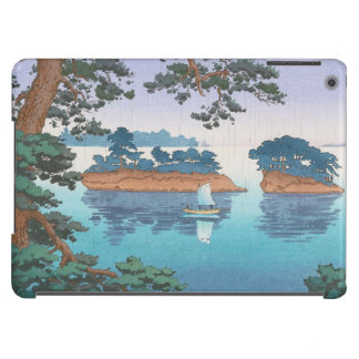 Spring Rain, Matsushima Japanese waterscape art iPad Air Cover