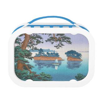 Spring Rain, Matsushima Japanese waterscape art Yubo Lunchbox