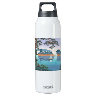 Spring Rain, Matsushima Japanese waterscape art SIGG Thermo 0.5L Insulated Bottle