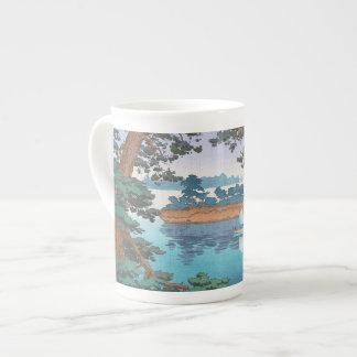 Spring Rain, Matsushima Japanese waterscape art Tea Cup