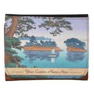 Spring Rain, Matsushima Japanese waterscape art Wallets
