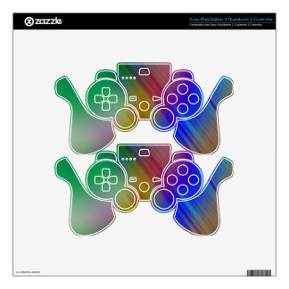 Spring Rain PS3 Controller Decals