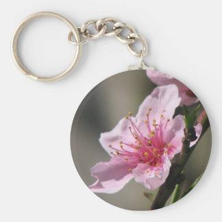 Spring Raspberry Bloom Key Chain
