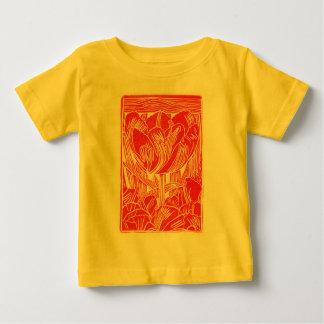 Spring Red Tulip Kids T-Shirt