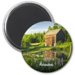 Spring Reflections in the Adirondacks, N.Y. Fridge Magnet