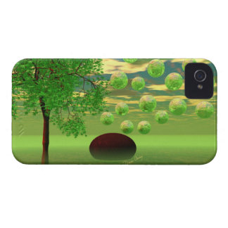 Spring Renewal – Lemon & Lime Life Force iPhone 4 Case-Mate Case