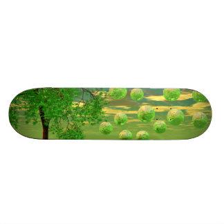 Spring Renewal – Lemon & Lime Life Force Skate Deck