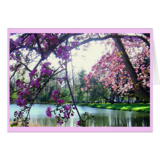 Spring Reverie Note Card