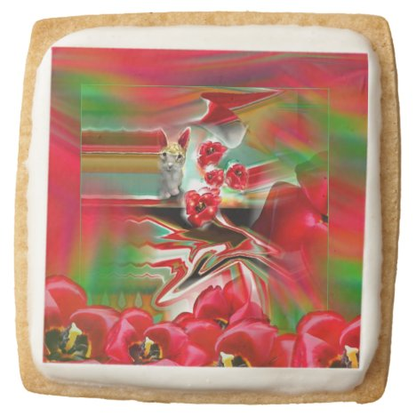 Spring Revival Abstract Easter Art Cookies