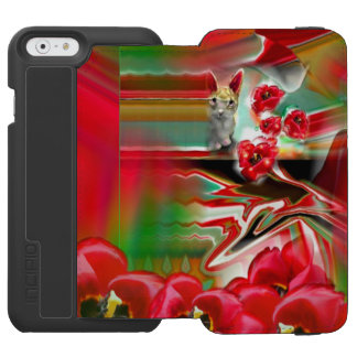 Spring Revival Abstract Easter Art iPhone 6/6s Wallet Case