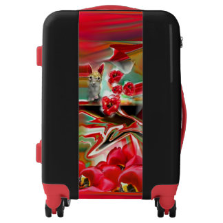 Spring Revival Abstract Easter Art Luggage